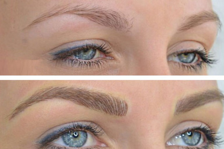 Before-After 3D Eyebrows