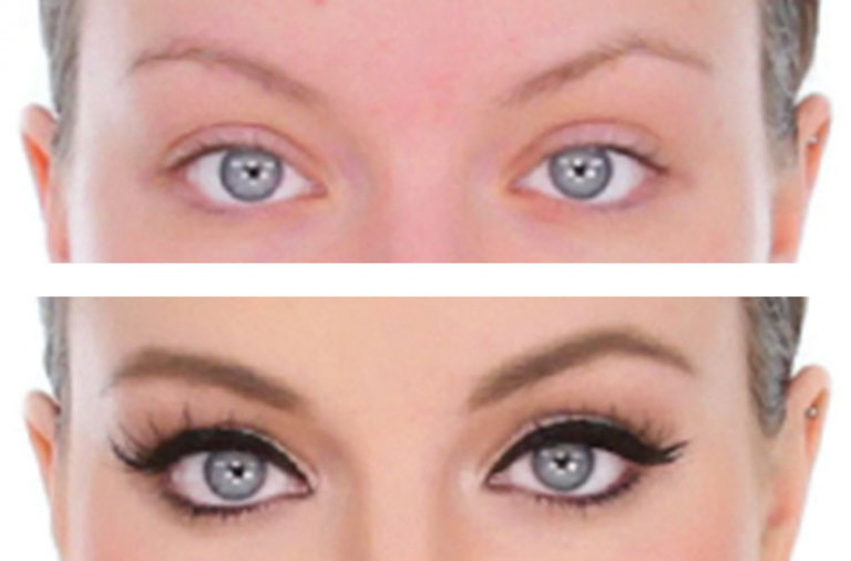 Before-After Eyeliner